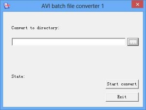 avi-batch-file-dav-to-avi-converter-screenshot